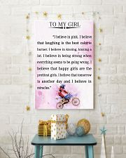 MOTOCROSS- I BELIEVE IN PINK 16x24 Poster lifestyle-holiday-poster-3