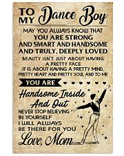 TO MY Dance Boy - Mom 16x24 Poster front