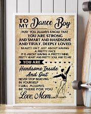 TO MY Dance Boy - Mom 16x24 Poster lifestyle-poster-4