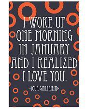 January- I WOKE UP ONE MORNING 16x24 Poster front