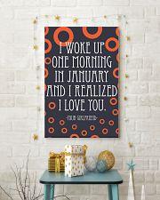 January- I WOKE UP ONE MORNING 16x24 Poster lifestyle-holiday-poster-3