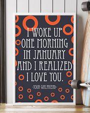 January- I WOKE UP ONE MORNING 16x24 Poster lifestyle-poster-4