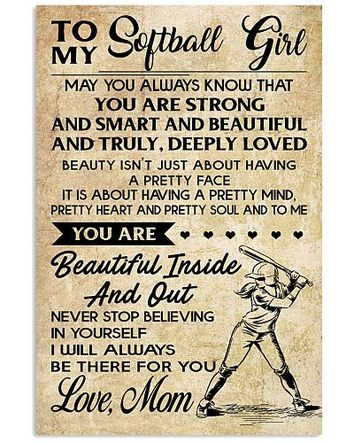 TO MY Softball Boy Mom