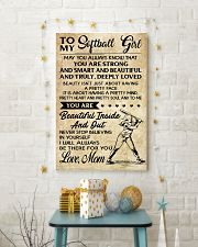 TO MY Softball Boy Mom 11x17 Poster lifestyle-holiday-poster-3