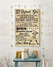 TO MY Softball Boy Mom 24x36 Poster lifestyle-holiday-poster-3