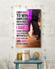 1- I DON'T DANCE TO WIN COMPETITION  11x17 Poster lifestyle-holiday-poster-3