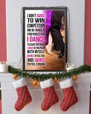 1- I DON'T DANCE TO WIN COMPETITION  11x17 Poster lifestyle-holiday-poster-4