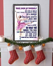 Take care of yourself - DANCE 11x17 Poster lifestyle-holiday-poster-4