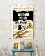 WITHOUT MUSIC LIFE WOULD - TRUMPET POSTER 11x17 Poster lifestyle-holiday-poster-3