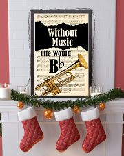 WITHOUT MUSIC LIFE WOULD - TRUMPET POSTER 11x17 Poster lifestyle-holiday-poster-4