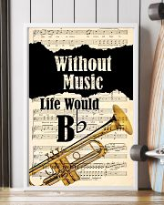 WITHOUT MUSIC LIFE WOULD - TRUMPET POSTER 11x17 Poster lifestyle-poster-4