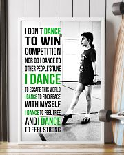 7-  I DON'T DANCE TO WIN COMPETITION - IRISH DANCE 11x17 Poster lifestyle-poster-4