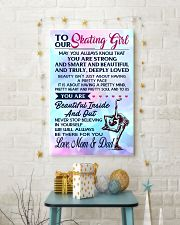 12 TO MY  Skating Girl - Mom and Dad 16x24 Poster lifestyle-holiday-poster-3