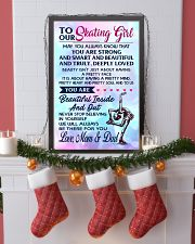 12 TO MY  Skating Girl - Mom and Dad 16x24 Poster lifestyle-holiday-poster-4