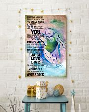 SWIMMING - TODAY IS A GOOD DAY POSTER 11x17 Poster lifestyle-holiday-poster-3