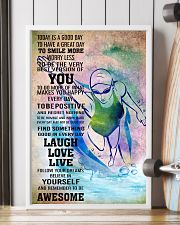 SWIMMING - TODAY IS A GOOD DAY POSTER 11x17 Poster lifestyle-poster-4