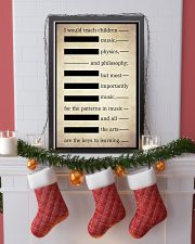 I WOULD TEACH CHILDREN MUSIC PHYSICS AND PHILOSOPH 16x24 Poster lifestyle-holiday-poster-4