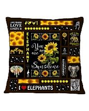 ELEPHANT DECOR PILLOWCASE 3 Square Pillowcase front