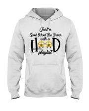 BAN CHUAN TEXT DEN TRAM Hooded Sweatshirt thumbnail