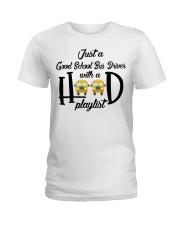 BAN CHUAN TEXT DEN TRAM Ladies T-Shirt thumbnail