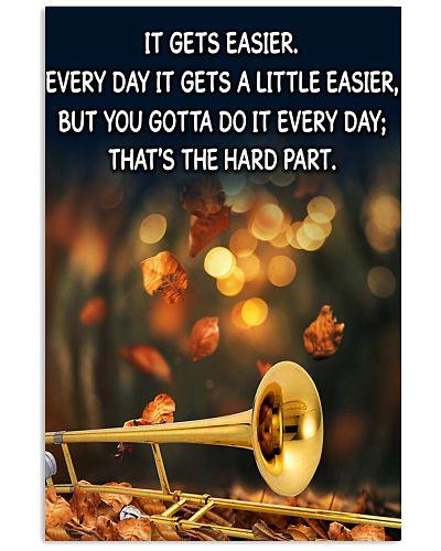 Trombone It Gets Easier Poster
