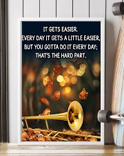 Trombone It Gets Easier Poster 11x17 Poster lifestyle-poster-4