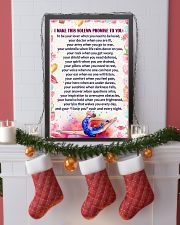 I Make this solemn promise to you - Gymnastics 16x24 Poster lifestyle-holiday-poster-4