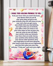 I Make this solemn promise to you - Gymnastics 16x24 Poster lifestyle-poster-4