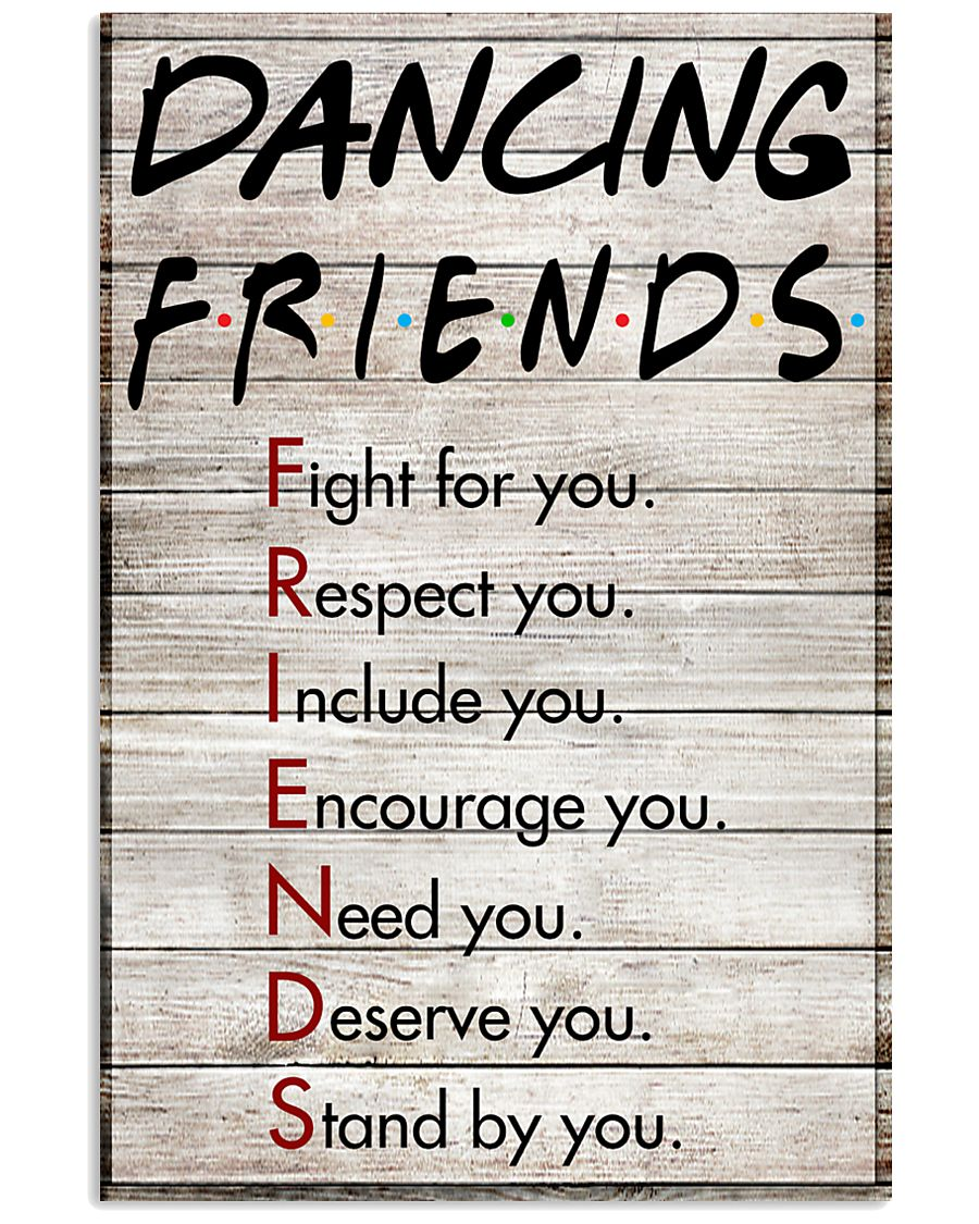 Dancing Friends - Poster 11x17 Poster