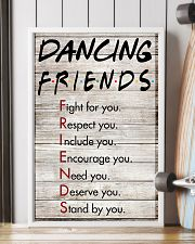 Dancing Friends - Poster 11x17 Poster lifestyle-poster-4
