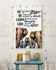 ELEPHANT DO BE LAUGH LOVE POSTER 11x17 Poster lifestyle-holiday-poster-3