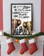 ELEPHANT DO BE LAUGH LOVE POSTER 11x17 Poster lifestyle-holiday-poster-4