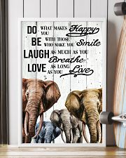 ELEPHANT DO BE LAUGH LOVE POSTER 11x17 Poster lifestyle-poster-4