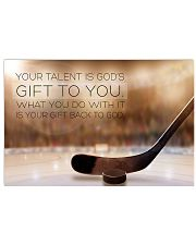 hockey- your talent is god's poster LQT 17x11 Poster front