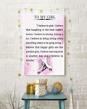SKATING- I BELIEVE IN PINK 16x24 Poster lifestyle-holiday-poster-3