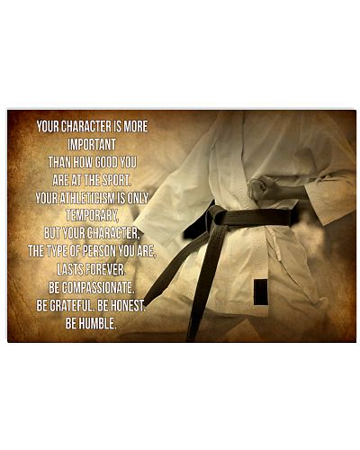 KARATE - YOUR CHARACTER IS MORE IMPORTANT