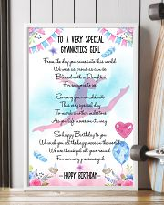 GYMNASTICS PAISLEY FLOWER 11x17 Poster lifestyle-poster-4