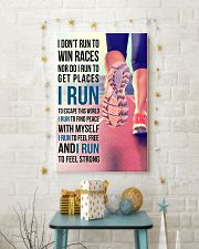 I DON'T RUN TO WIN RACES 11x17 Poster lifestyle-holiday-poster-3