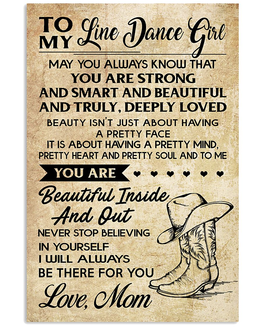 TO MY LINE DANCE 16x24 Poster