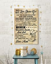 TO MY LINE DANCE 16x24 Poster lifestyle-holiday-poster-3