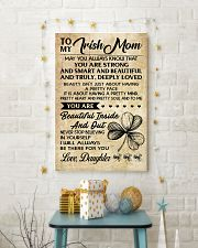 TO MY Irish MOM DAUGHTER 16x24 Poster lifestyle-holiday-poster-3