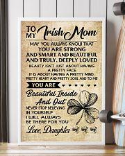 TO MY Irish MOM DAUGHTER 16x24 Poster lifestyle-poster-4