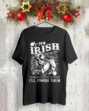 fighting irish Classic T-Shirt lifestyle-holiday-crewneck-front-2