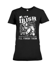 fighting irish Premium Fit Ladies Tee thumbnail