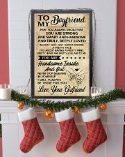TO MY BOYFRIEND- YOUR GIRLFRIEND 16x24 Poster lifestyle-holiday-poster-4