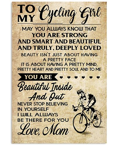TO MY cycling GIRL- MOM