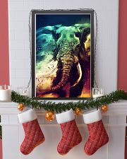 Elephants Broken Watercolor Poter 11x17 Poster lifestyle-holiday-poster-4