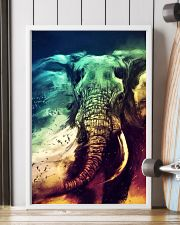 Elephants Broken Watercolor Poter 11x17 Poster lifestyle-poster-4