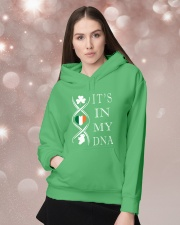 IRISH DNA  Hooded Sweatshirt lifestyle-holiday-hoodie-front-1