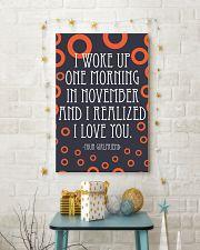 NOVEMBER- I WOKE UP ONE MORNING 16x24 Poster lifestyle-holiday-poster-3